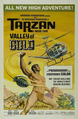 Tarzan and the Valley of Gold movie poster (1966) poster MOV_3182c6b4