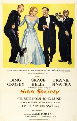 High Society movie poster (1956) poster MOV_318335a6