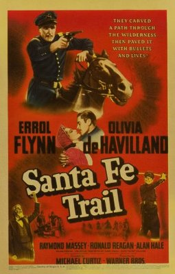 Santa Fe Trail movie poster (1940) poster MOV_31bc4395