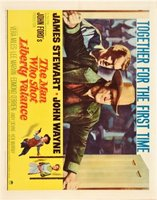 The Man Who Shot Liberty Valance movie poster (1962) picture MOV_31cda323