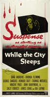 While the City Sleeps movie poster (1956) picture MOV_31d1433d