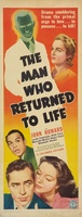 The Man Who Returned to Life movie poster (1942) picture MOV_31dd87ba