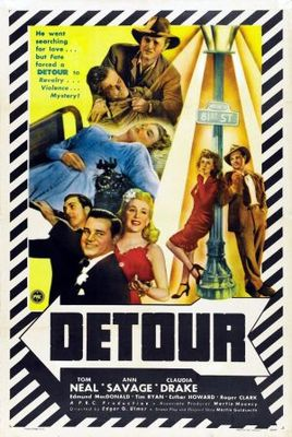 Detour movie poster (1945) poster MOV_31e0f8be