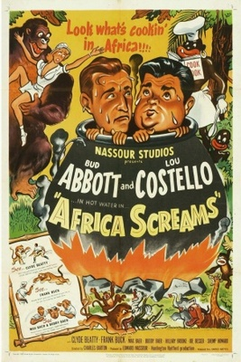 Africa Screams movie poster (1949) poster MOV_31e4b687