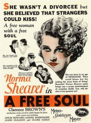 A Free Soul movie poster (1931) poster MOV_31edb060