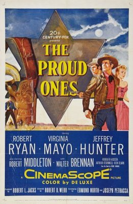 The Proud Ones movie poster (1956) poster MOV_32071c50