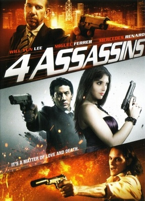Four Assassins movie poster (2012) poster MOV_3208f14a