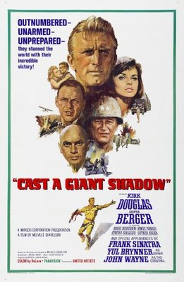 Cast a Giant Shadow movie poster (1966) poster MOV_32098f87