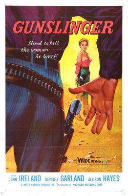 Gunslinger movie poster (1956) poster MOV_320b94ab