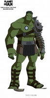 Planet Hulk movie poster (2010) picture MOV_323f5818
