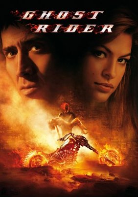 Ghost Rider movie poster (2007) poster MOV_32554aa0