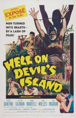Hell on Devil's Island movie poster (1957) poster MOV_326a9380