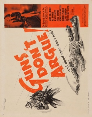 Guns Don't Argue movie poster (1957) poster MOV_3279d515