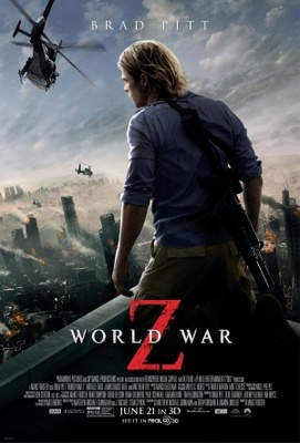 World War Z movie poster (2013) poster MOV_32ac1b07