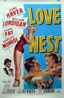 Love Nest movie poster (1951) picture MOV_32b35182