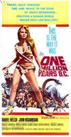 One Million Years B.C. movie poster (1966) picture MOV_32b6200b