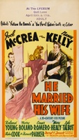 He Married His Wife movie poster (1940) picture MOV_32d930db