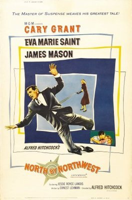North by Northwest movie poster (1959) poster MOV_32e68574