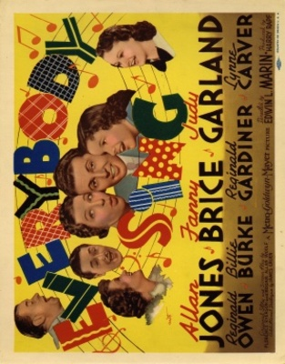 Everybody Sing movie poster (1938) poster MOV_32ec9fd2