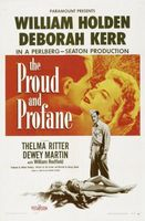 The Proud and Profane movie poster (1956) picture MOV_32f32814