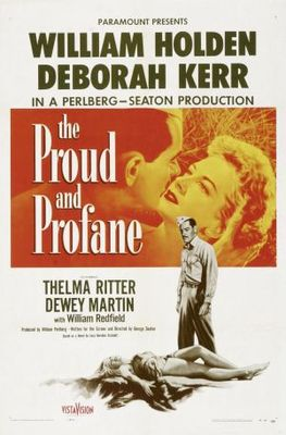 The Proud and Profane movie poster (1956) poster MOV_32f32814