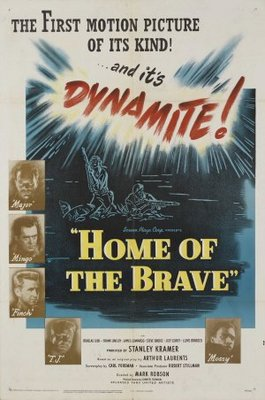Home of the Brave movie poster (1949) poster MOV_32f61803