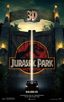 Jurassic Park 3D movie poster (2013) picture MOV_33037825