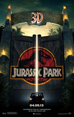 Jurassic Park 3D movie poster (2013) poster MOV_33037825