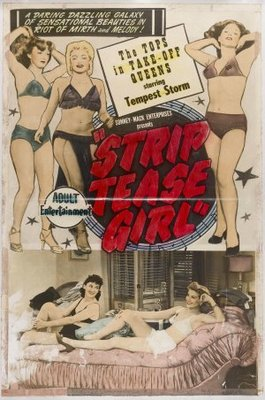 Striptease Girl movie poster (1952) poster MOV_3315bbbc