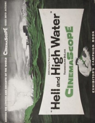 Hell and High Water movie poster (1954) poster MOV_331871e3