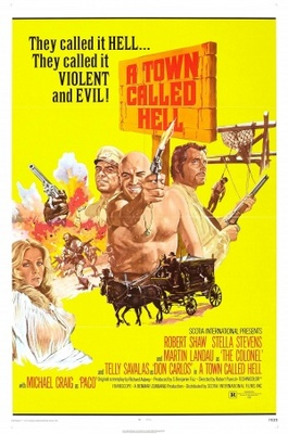 A Town Called Hell movie poster (1971) poster MOV_3337ecd7