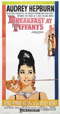 Breakfast at Tiffany's movie poster (1961) poster MOV_334bdab3