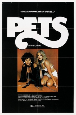 Pets movie poster (1974) poster MOV_335358d2