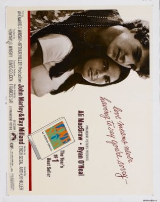 Love Story movie poster (1970) poster MOV_3372030c