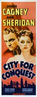 City for Conquest movie poster (1940) picture MOV_33794f14