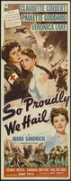 So Proudly We Hail! movie poster (1943) picture MOV_337cf07f
