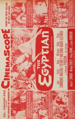 The Egyptian movie poster (1954) poster MOV_3382f9ec