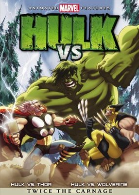 Hulk Vs. movie poster (2009) poster MOV_33911609
