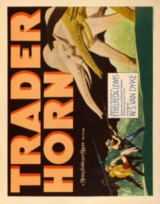 Trader Horn movie poster (1931) poster MOV_339d5270