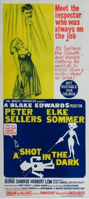 A Shot in the Dark movie poster (1964) poster MOV_33be3571
