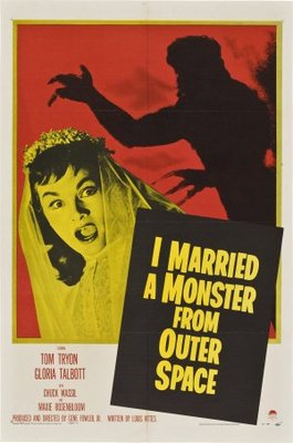 I Married a Monster from Outer Space movie poster (1958) poster MOV_33ddecb4