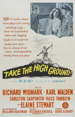 Take the High Ground! movie poster (1953) poster MOV_33df76da