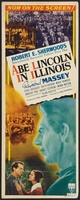 Abe Lincoln in Illinois movie poster (1940) picture MOV_33ea1229