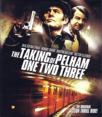 The Taking of Pelham One Two Three movie poster (1974) poster MOV_33f5b408