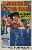 Manhunt of Mystery Island movie poster (1945) picture MOV_3402f9e0