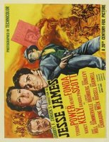 Jesse James movie poster (1939) picture MOV_340a53dc