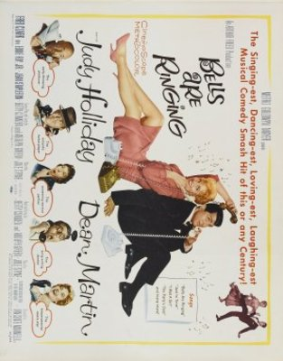Bells Are Ringing movie poster (1960) poster MOV_340b623a