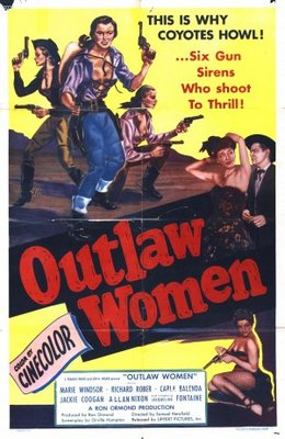 Outlaw Women movie poster (1952) poster MOV_340f8f58