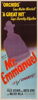Mr. Emmanuel movie poster (1944) poster MOV_3412d34f