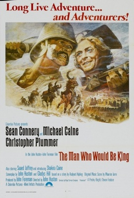 The Man Who Would Be King movie poster (1975) poster MOV_34142db1